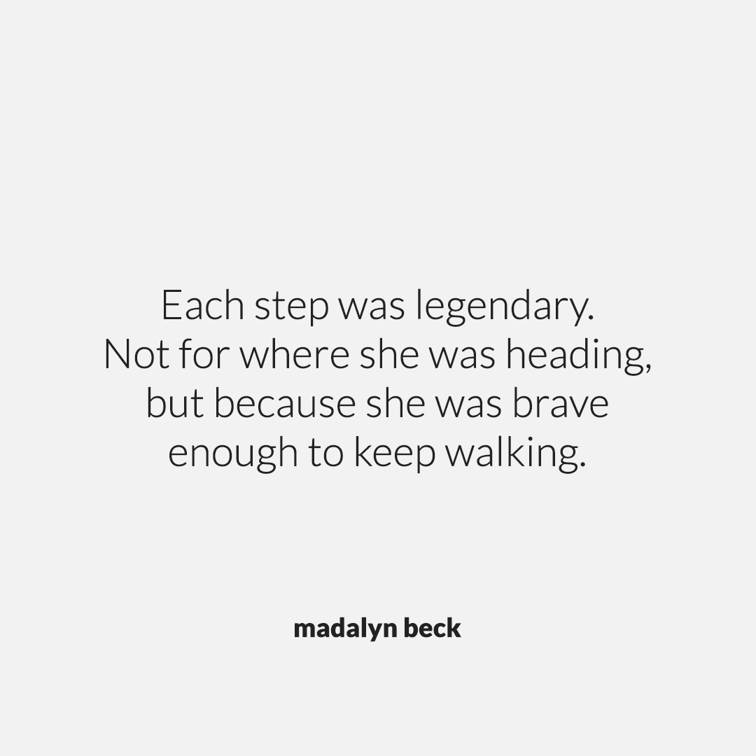 Legendary by Madalyn Beck